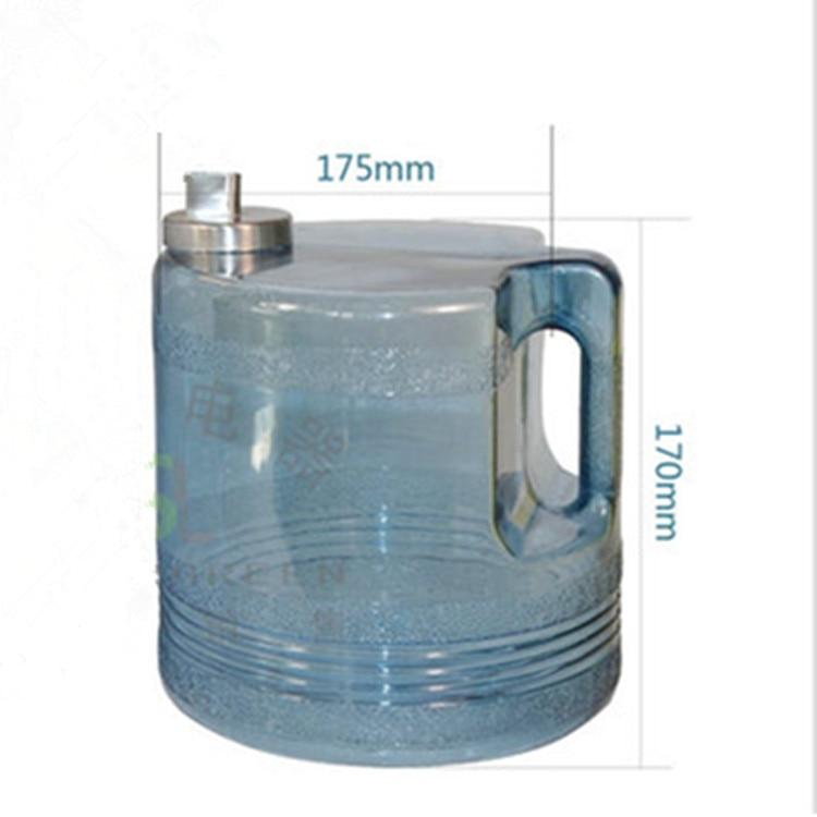 3.7L PC food grade barrel for distilled water machine plastic jar of water distiller high temperature water distilled parts3.7L PC food grade barrel for distilled water machine plastic jar of water distiller high temperature water distilled parts
