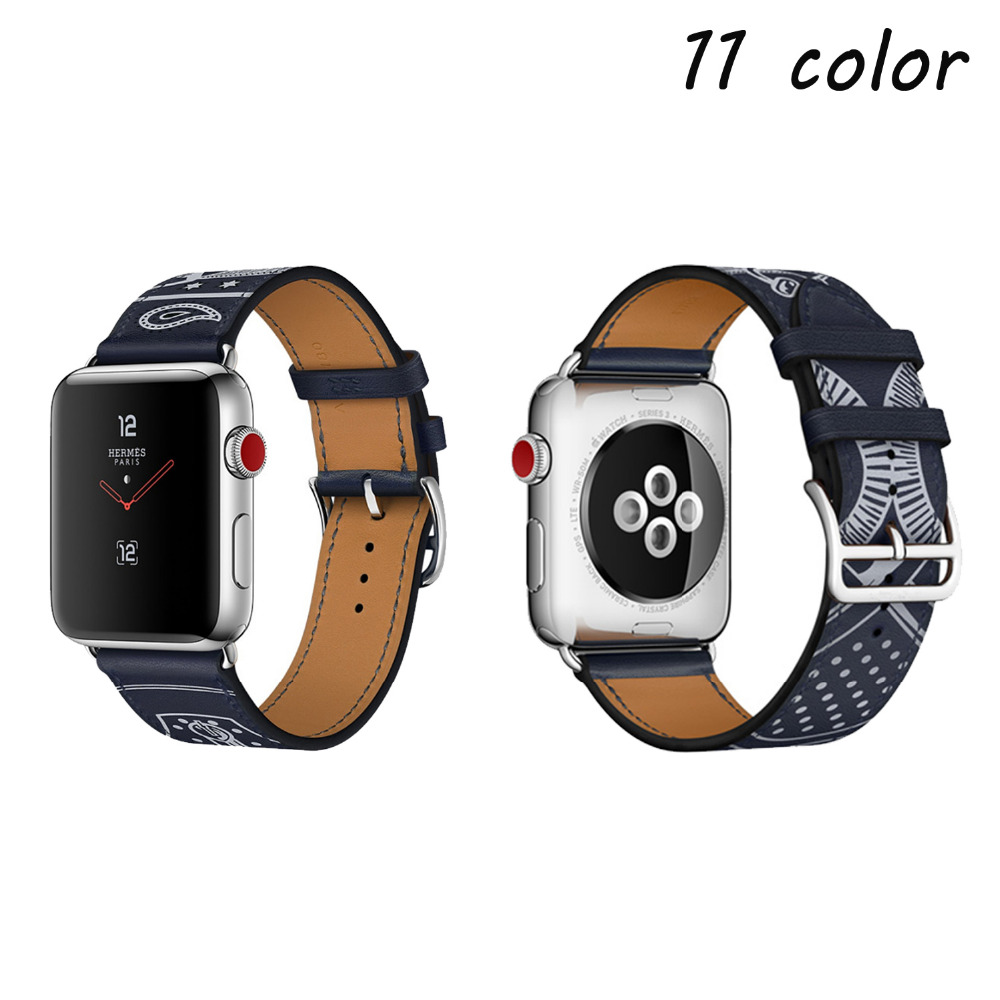 for apple watch band 42mm 38mm bracelet watchband Single Tour band Genuine Leather strap for apple watch iwatch 3/2/1 black istrap black brown red france genuine calf leather single tour bracelet watch strap for iwatch apple watch band 38mm 42mm
