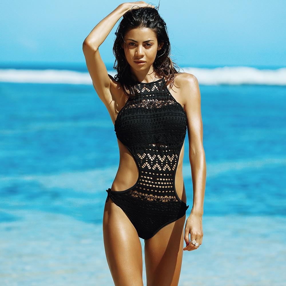 337954ae9b163 New One Piece Swimsuit 2017 Swimwear Women Push Up Monokini Solid Bodysuit  Set Sexy Beach Wear Maillot de Bain Femme Bodysuits - TakoFashion - Women's  ...