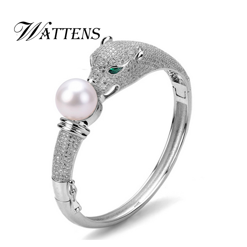 WATTENS New Fashion Pearl Jewelry, 100% Natural freshwater pearl bracelets for women gift,925 sterling silver braceletWATTENS New Fashion Pearl Jewelry, 100% Natural freshwater pearl bracelets for women gift,925 sterling silver bracelet