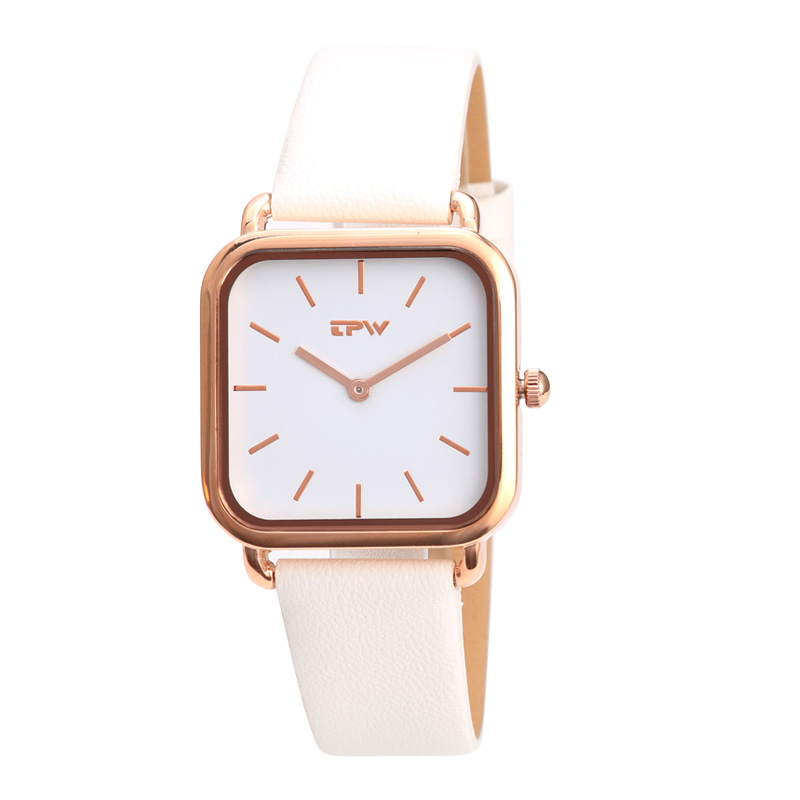 Causal Watches For Womens Leather Alloy Quartz Wrist Watch Clock Montre Femme square watch relogio feminino vintage