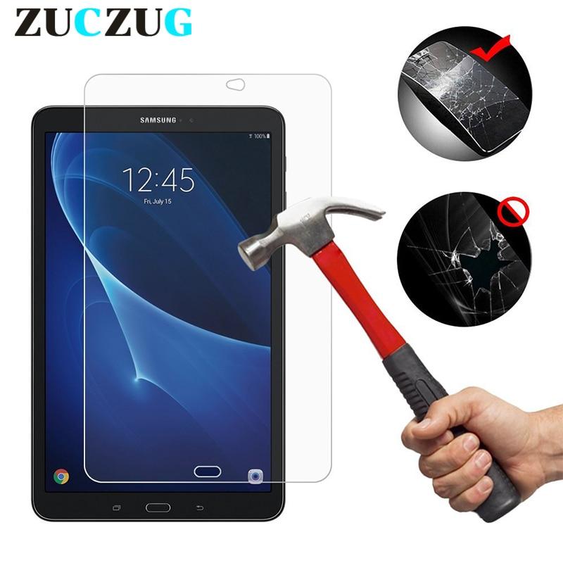شیشه خو برای Samsung Galaxy Tab A 10.1 2016 فیلم با کیفیت برای Samsung Tab A 10.1 2016 محافظ صفحه نمایش T580 T585 LCD