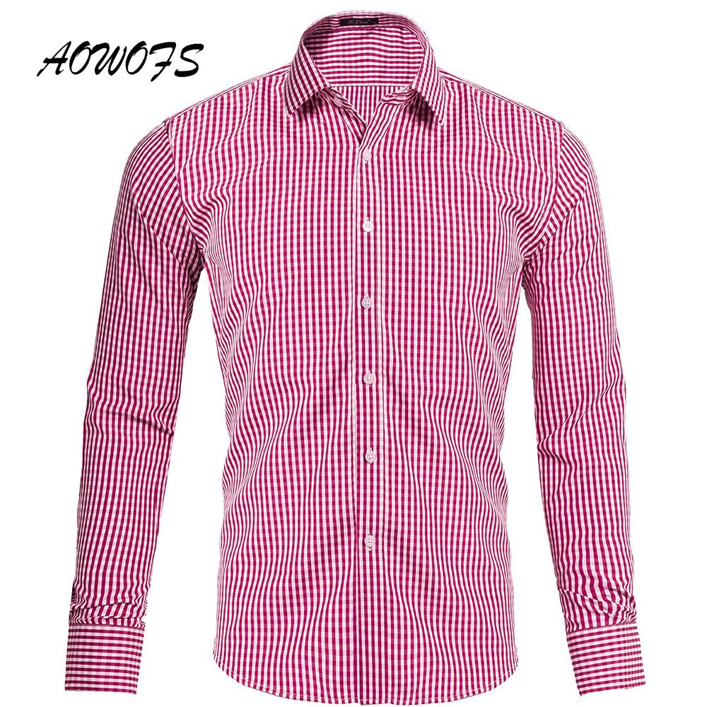 Shirt design images 2017 - 2017 Neue M Nner Casual Shirts Langarm Pr Fen Stehkragen Atmungs Plaid Design Mann T Shirt Us Gr E Yjt Gd020