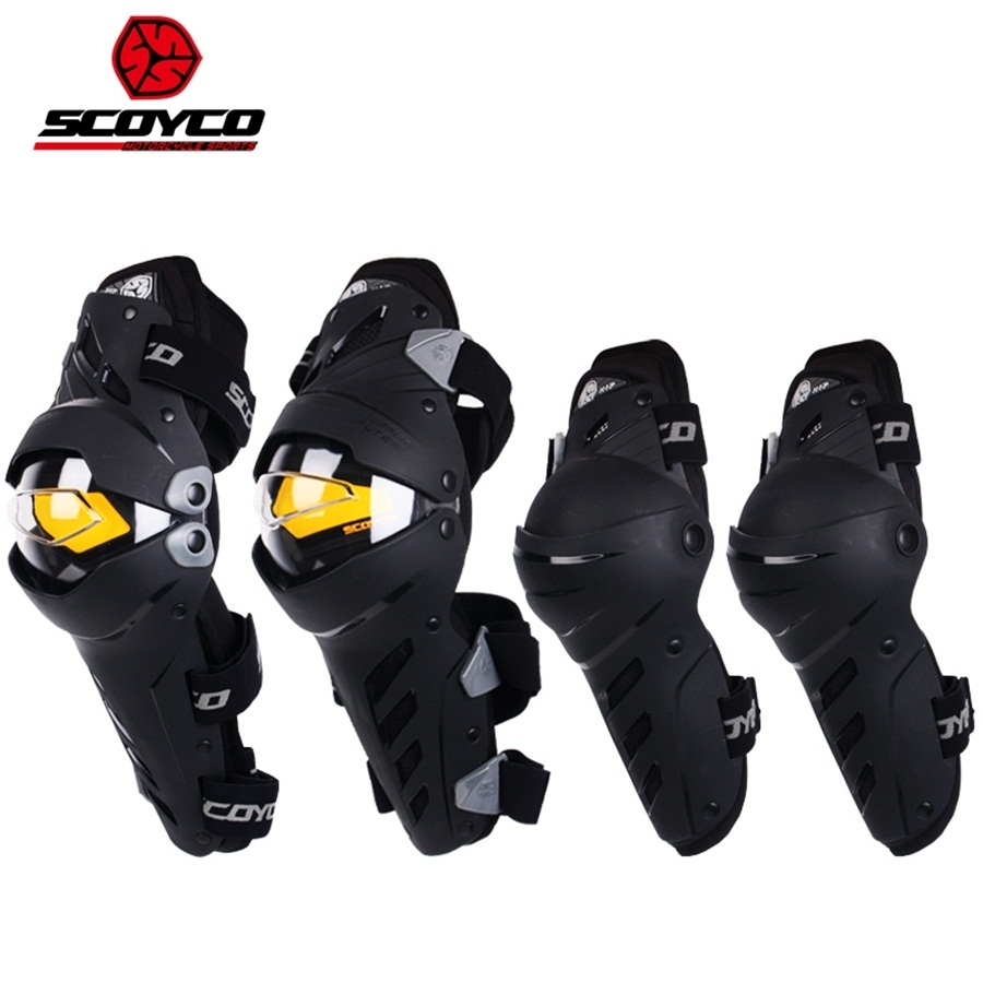 Free shipping 1Set/4Pcs Motocross Knee Moto Pads Protector Protective Elbow Gear Guards Pad Motorcycle Knee and Elbow цены онлайн