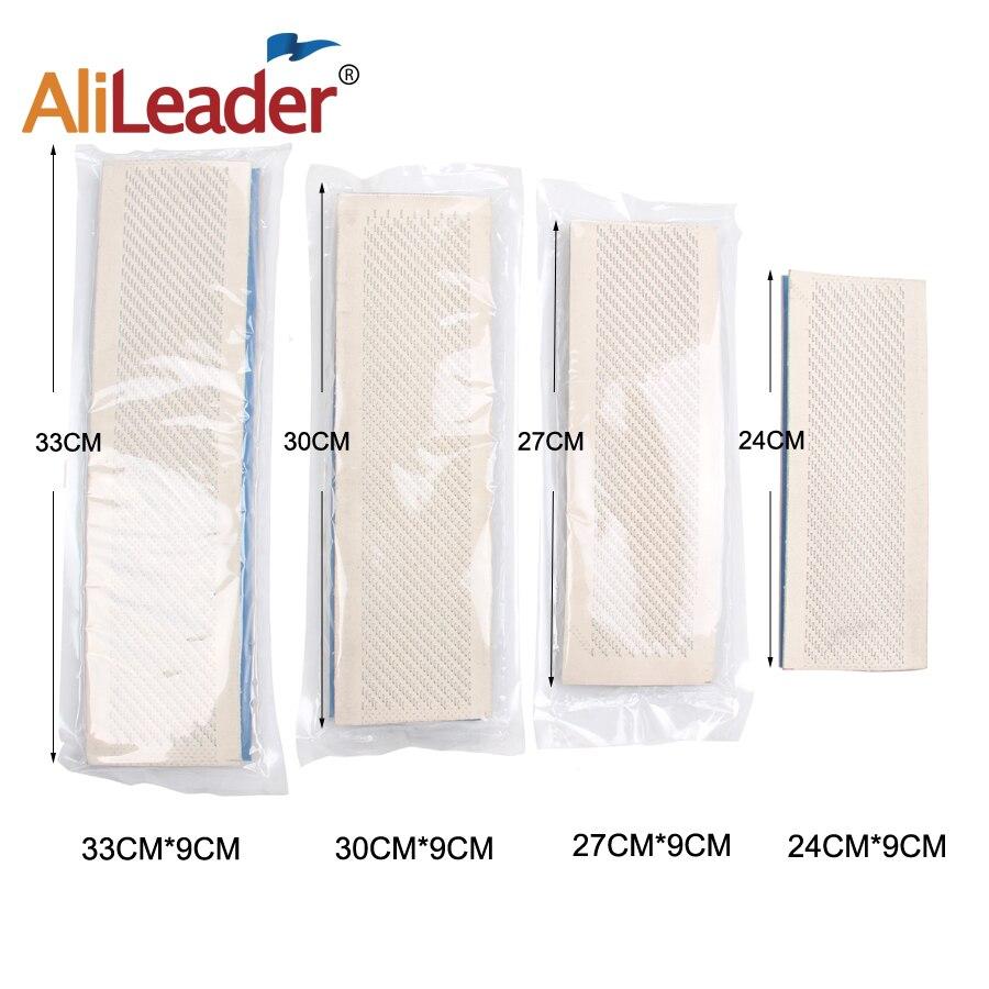Alileader Planche à Dessin Cheveux Titulaire Dessin Tapis Pu Peau Pad Support Pour en vrac extension de cheveux outils 30 cm * 9 cm/27 cm * 9 cm/24 cm * 9 cm