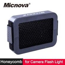 Micnova Universal Speed Grid 1/6 1/8 Honeycomb Flash Diffuser for Canon Nikon YongNuo Godox on Camera Flash Light Speedlight universal inflatable type plastic flash speedlight diffuser