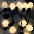 Nolvelty 5.9 M 20 LED de Natal Ao Ar Livre Luzes de Fadas Luz Da Corda Lâmpada Decoração Do Casamento Luminaria Garland Cadeia À Prova D' Água 220 V