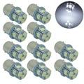 10 шт. 1156 S25 p21W Ba15s Белый 8 5050 SMD LED Сигнала Поворота Заднего Света Лампы 12 В 24 В