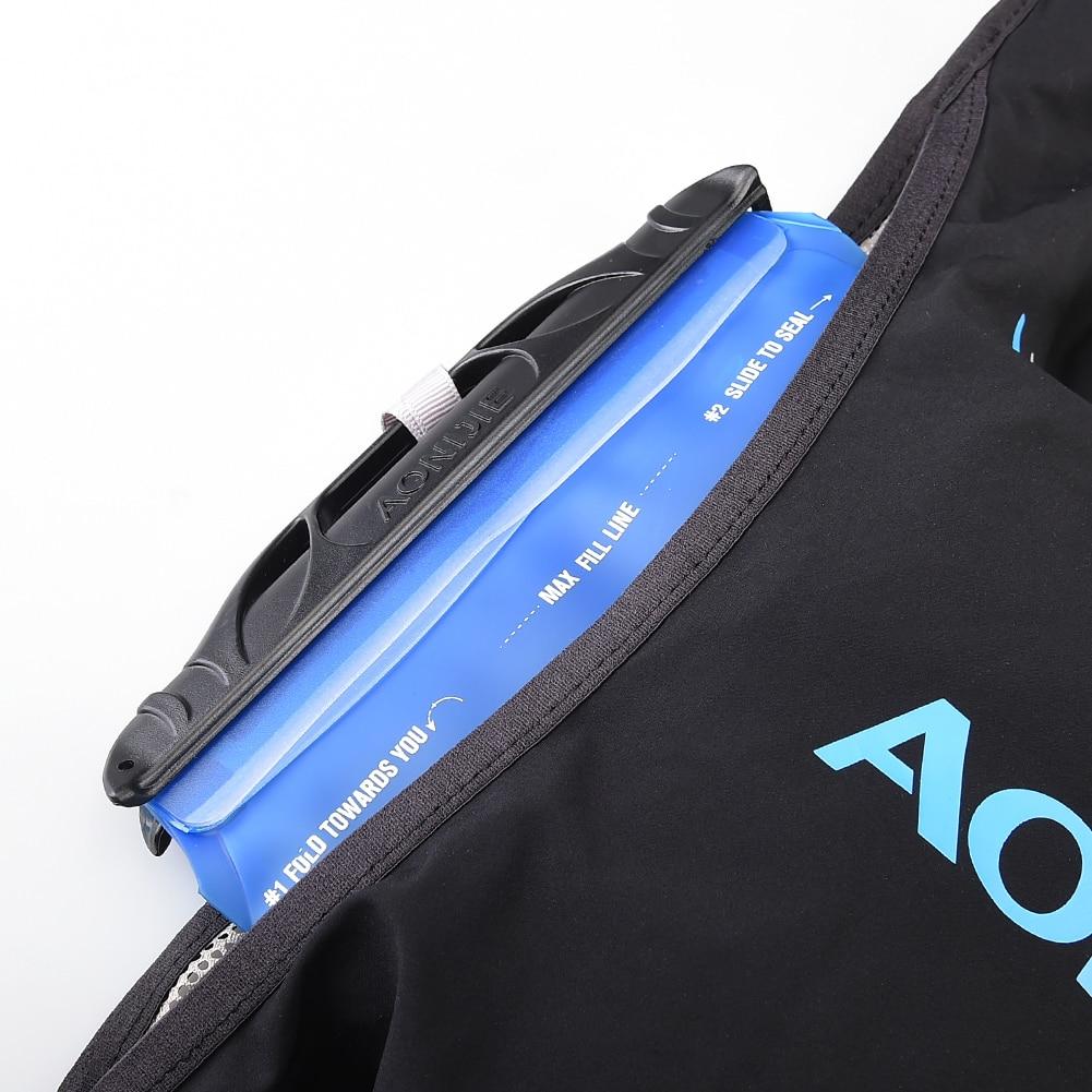 AONIJIE C933 sac à dos sac à dos sac à dos gilet harnais vessie d'eau randonnée Camping course Marathon escalade 5L - 3