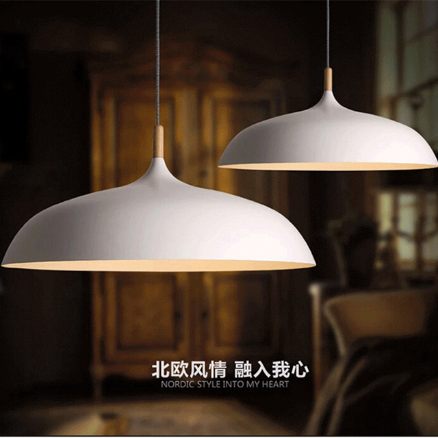 Lámpara colgante de aluminio estilo Industrial Luz Retro nórdico con luces  colgantes para comedor y restaurante
