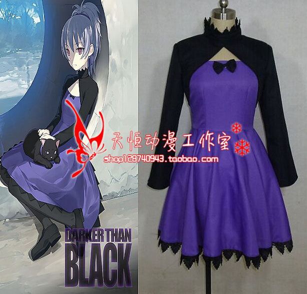 Darker than BLACK Yin cosplay costume custom any size