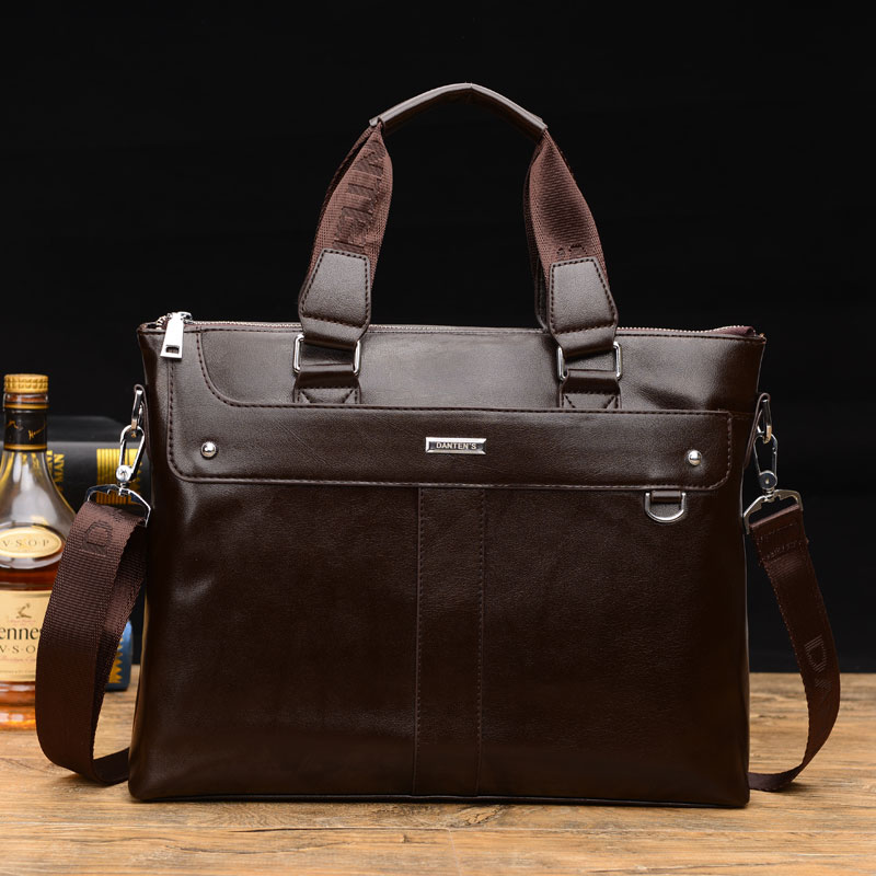 ФОТО 2016 New PU leather bag men messenger bags shoulder tote men's travel bags business laptop bags briefcase wholesale price