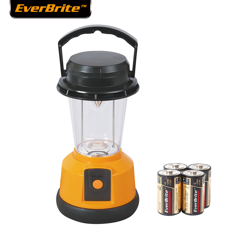 Everbrite 4D LED-lampa Camping Light Portable Light utomhus nödlampa med batterier