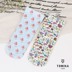 Summer style wholesale fashion brand women cute funny kawaii harajuku transparent active sushi printed ankle socks.jpg 250x250