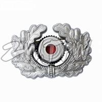 WW2 WWII ARMY METAL EAGLE CAP BADGES SLIVER COLOR HIGH QUALITY REPLICA DE/402103