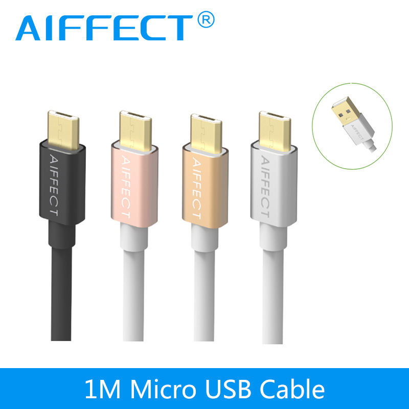 AIFFECT Micro USB Cable 5V3A Fast Charging Mobile font b Phone b font USB Charger Cable