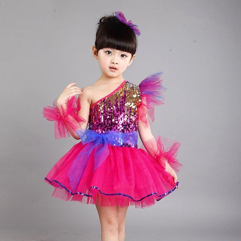 Chino niños princesa traje trajes niños pavo real para niñas ...