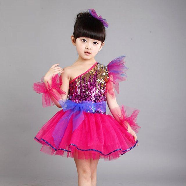 Tienda Online Chino niños princesa traje trajes niños pavo real para ...