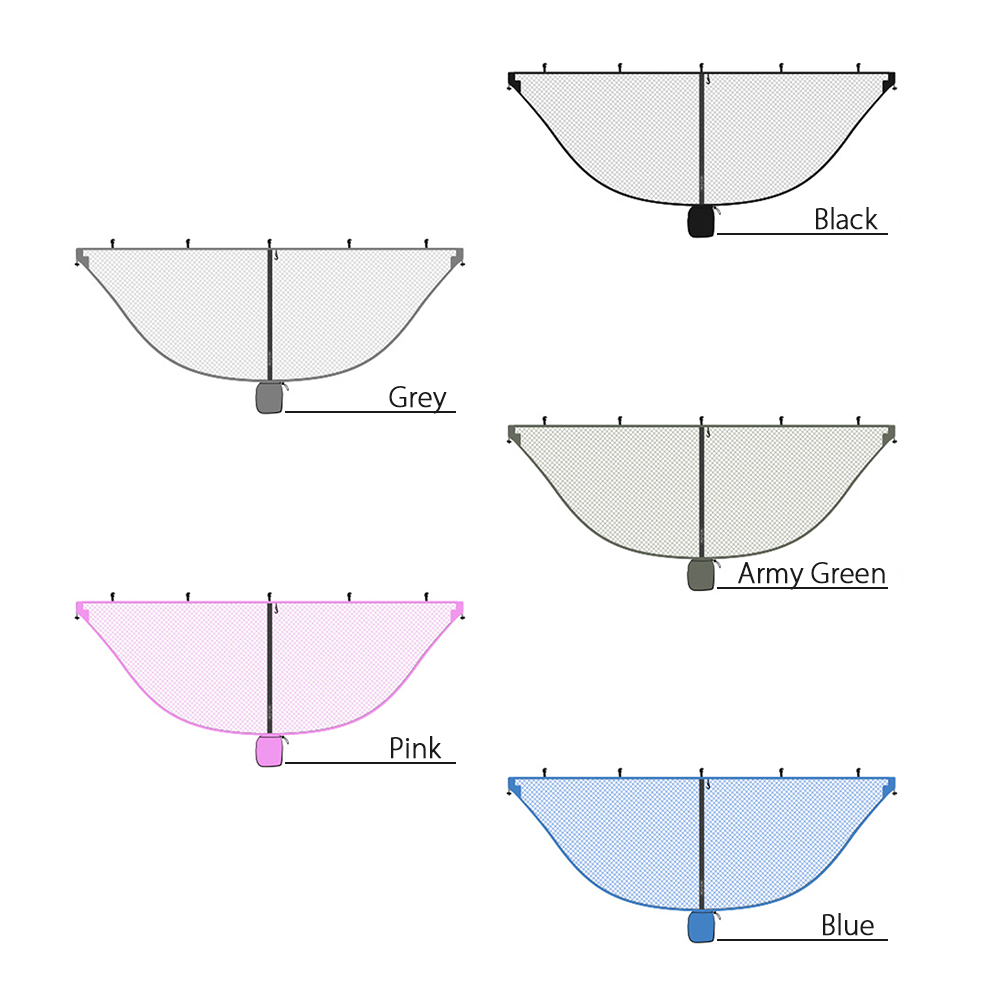 Image 4 - Ultralight Hammock Mosquito Net Outdoor Camping Breathable Anti Mosquito Mesh Tent Net-in Tents from Sports & Entertainment