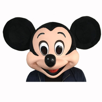 High Quality Mickey S Head Mascot Costume Custom Mascot Carnival Fancy Dress Costumes School Mascot College
