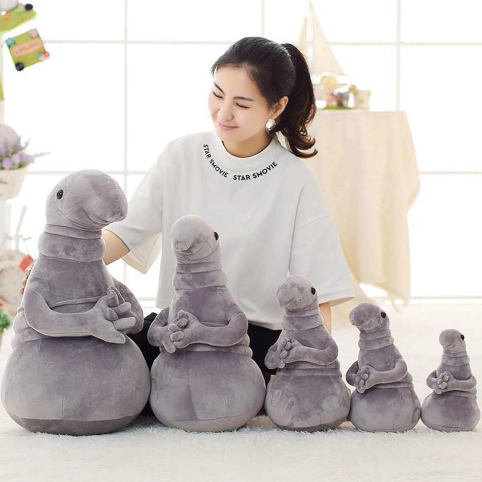 New Hot Waiting Plush Toy Zhdun Meme Tubby Gray Blob Zhdun Plush Doll Toys Homunculus Loxodontus фен scarlett sc hd70it31 чёрный мокко