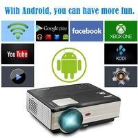 CAIWEI 1280x800 führte projektor wifi heimkinoprojektor digital HDMI günstige videoprojektor 4000 lumen 1080 P