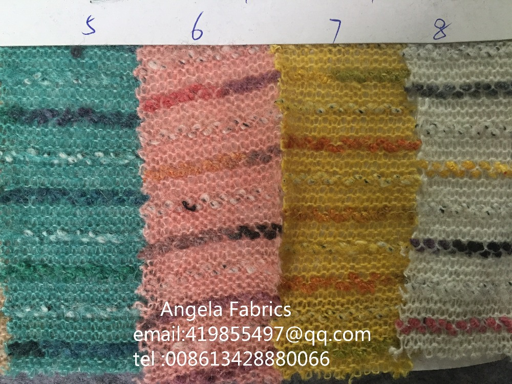 56a420548b5 Quality Striped Fabrics Wholesale Width 170cm Knit Sewing Dress Cloth baby  photo wraps Knit Backdrop Yarn