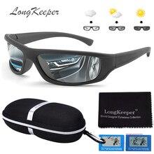 Hot Sale HD Polarized Photochromic Sunglasses with Case Women Men Oval Sports Sun Glasses Fashion Driving Gafas de sol Gifts Box