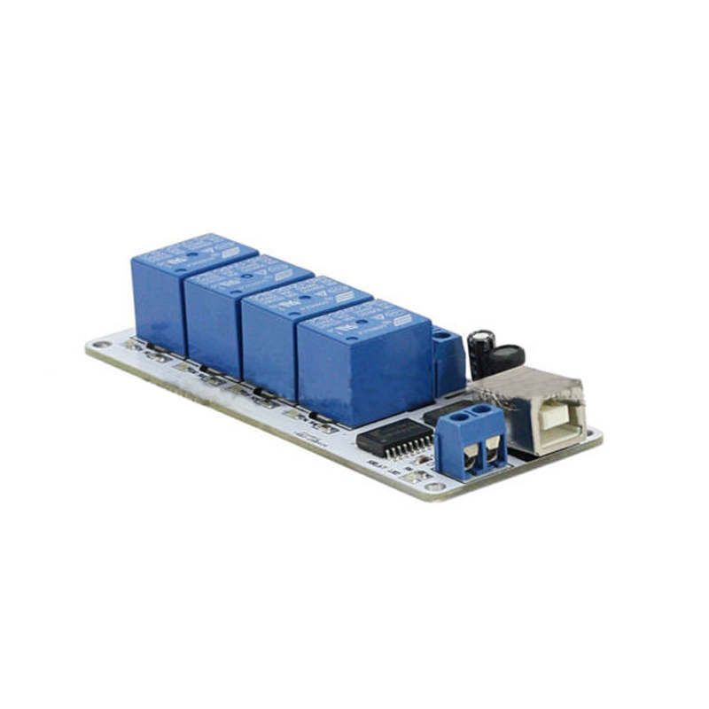 12V 4 Channel USB Relay Module Opto-couple For Arduino Robotics12V 4 Channel USB Relay Module Opto-couple For Arduino Robotics