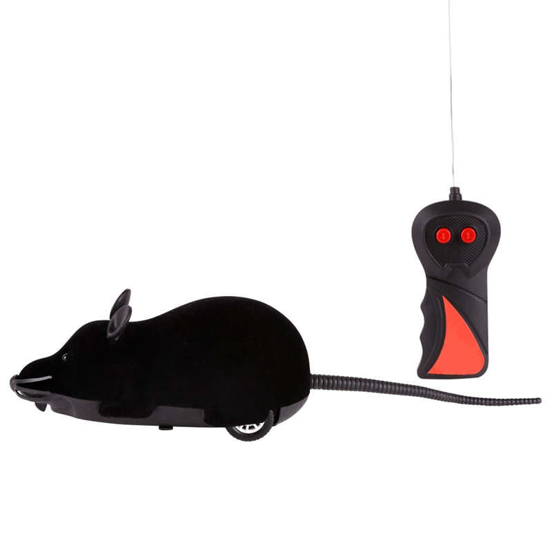 Cat Toy Wireless Remote Control Mouse Electronic RC Rat Mice Toy Pet Cat Toy Mouse New