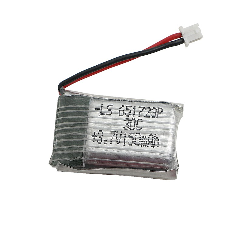 1 Pcs 150 MAH eachine 3.7 V Li Po battery to quadcopter jjrc RC helicopter Syma x2 Nihui u207 H2 spare part купить