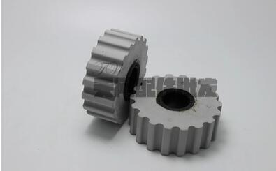 80pcs Woodworking machinery parts Germany Haomai edge banding machine delivery pressure wheel 70 18 25mm pressure