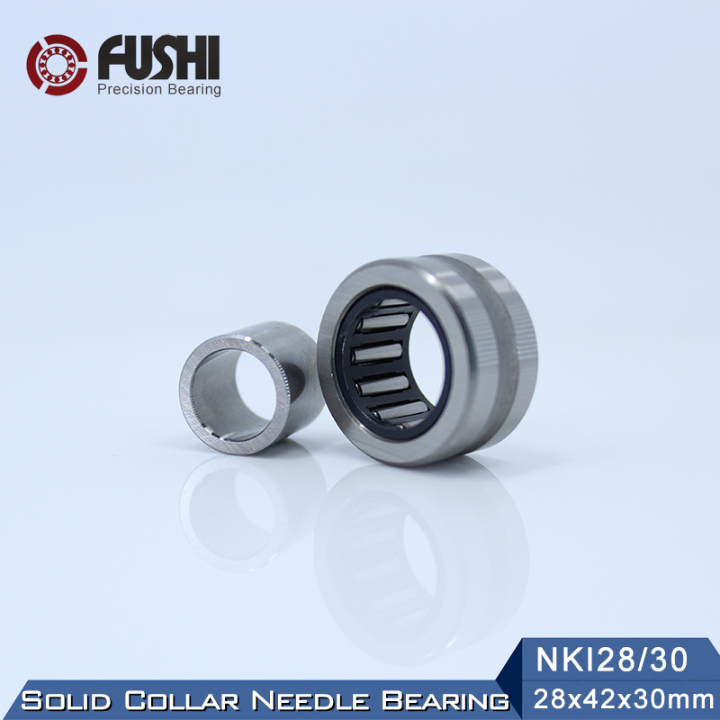 Bearing NKI35/30 NKI32/30 NKI28/30 NKI40/30 NKI30/30 NKI38/30 ( 1 PC ) Solid Collar Needle Roller Bearings With Inner Ring rna4913 heavy duty needle roller bearing entity needle bearing without inner ring 4644913 size 72 90 25