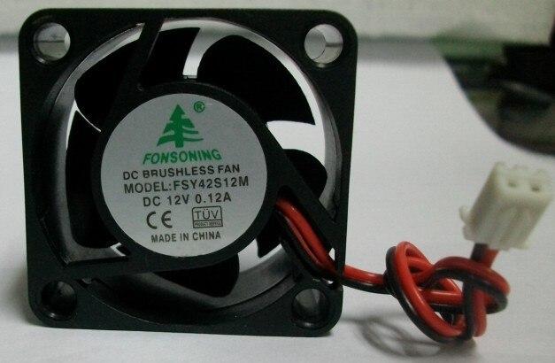 for FONSONING FSY40S12M 4cm 12V 0.08A 4010 Charger Inverter Fan