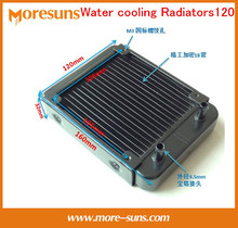 Fast Free Ship Water cooling Radiators 120 pure aluminum 18 tubes laptop desktop tube heat exchanger