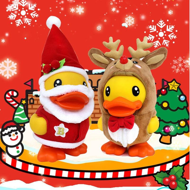 Weihnachten Ente.Zarten Weihnachten Ente Sparschwein Pvc Cartoon Weihnachten Ente Geld Box Kreative Nette Enten Münze Box Kinder Weihnachten Geschenk