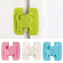 2pcs Safety Locks For Refrigerators Kids Baby Safety Cabinet