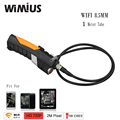 Wimius Wifi Endoscope Inspection mini Camera wireless 720P 8.5mm Diameter Lens 1Meter Tube Support for Ipad IOS Android Phone PC