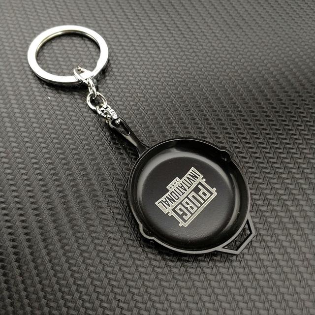 PLAYERUNKNOWN'S BATTLEGROUNDS Keychain Helmet Backpack Pan