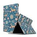 Tablet Чехол для Samsung galaxy Вкладке 10.5/T800 T805 красочные принты моды кожаный PU защитный Чехол стенд shell coque пункт