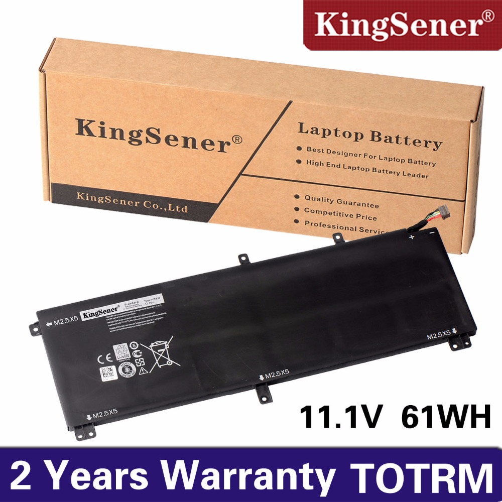 цены на KingSener New T0TRM Laptop Battery for For Dell XPS 15 9530 Precision M3800 TOTRM 245RR H76MV 7D1WJ 61WH Free 2 Years Warranty
