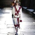 Novas Mulheres Moda Cardigans De Malha Extra Longo Estilo Europa Outono Inverno Mulheres Jaquetas Panelled Listrado Solto Outwears AO121