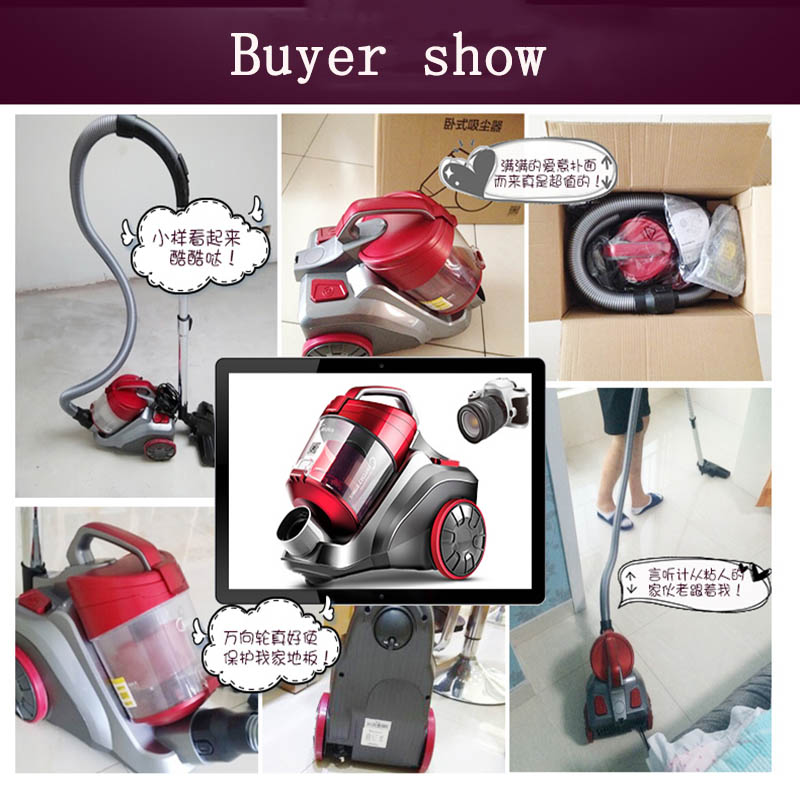 1pc Household Electric Vacuum Cleaner Ultra-quiet Powerful Dust Cleaner Handheld Instrument 220V 1200W C3-L148B