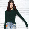 ALKMENE Trendy Knitted Sweater Women 2017 Women Sweater Pullover Long Sleeve Solid Color High Quality Women Sweater  Clothing