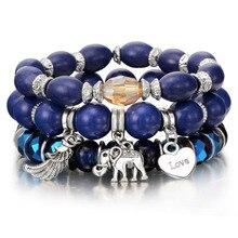 Yoga Style Beaded Bracelet