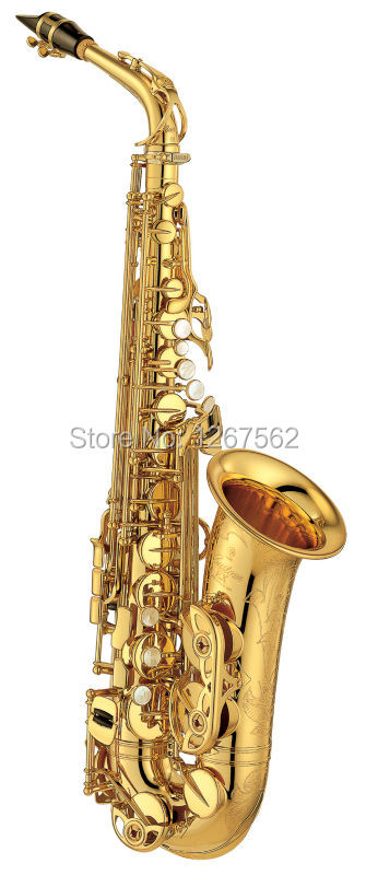 цена  Brand New High Quality Brand Japan Alto Saxophone Electrophoresis Gold Professional E Sax mouthpiece With Case and Accessories  онлайн в 2017 году