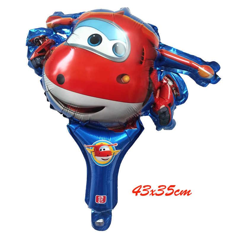1 шт. 18 дюймов Super Wings шар Джетт шары Super Wings игрушки День рождения украшения Детские игрушки globos поставки Globos MIDU