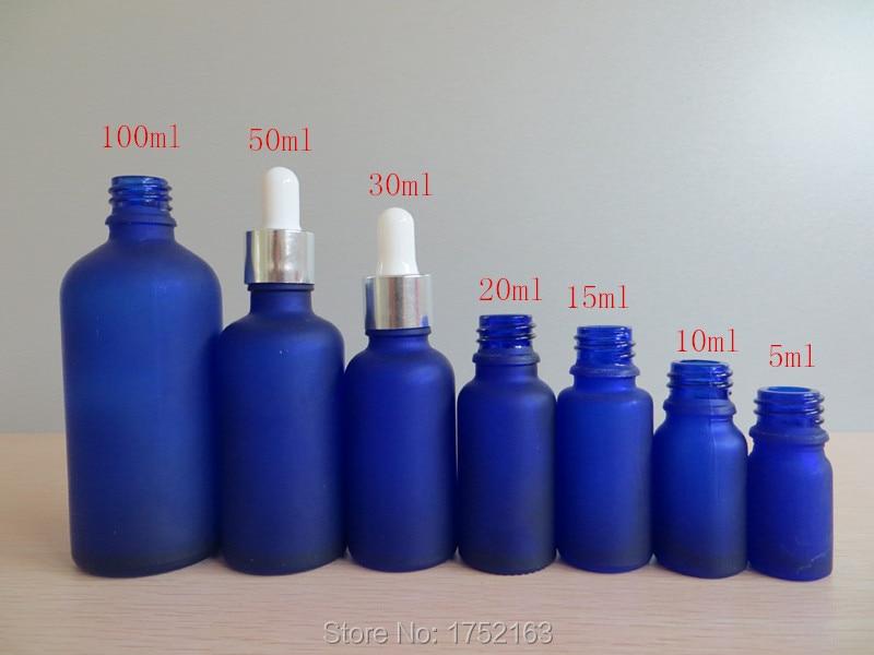 Ml Blue Bottle And  Ml Blue Glass Bottle