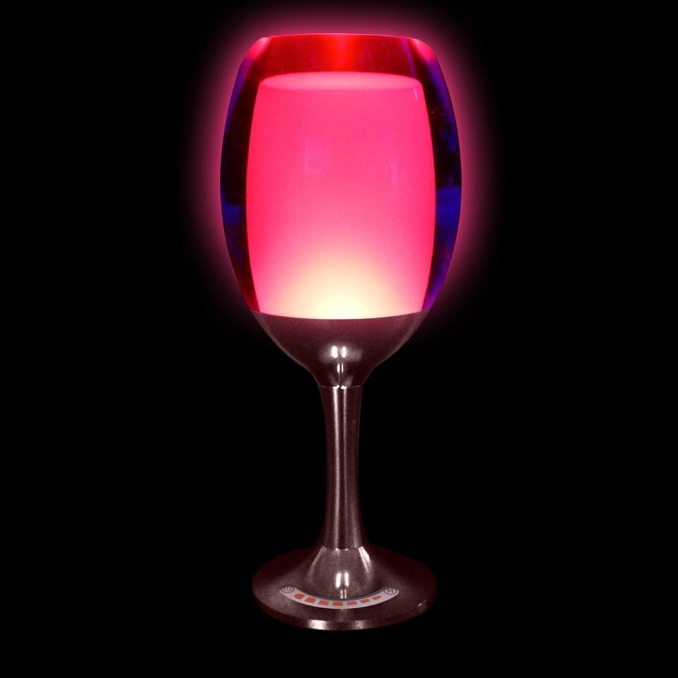 Vinkoppladdningslampa LED-nattlampa 3W USB-laddning Justera - Festlig belysning - Foto 2