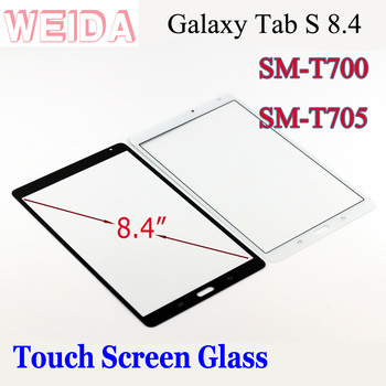 цена на WEIDA Screen Replacment For Samsung Galaxy Tab S 8.4 SM-T700 SM-T705 Touch Screen Glass Panel